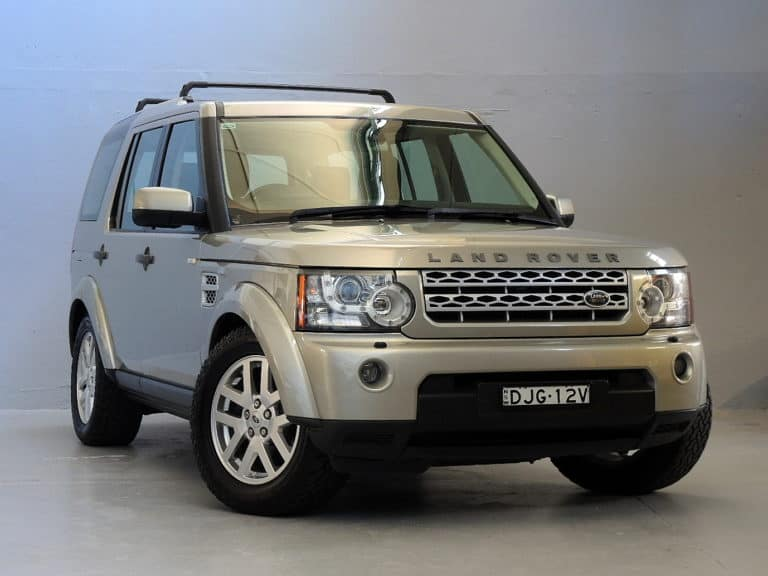 2011 Land Rover Discovery 4 TDV6 7 seat 4x4 wagon at The Good Car Garage Newcastle, NSW